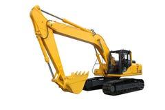 Máquina escavadora Imagens de Stock Royalty Free