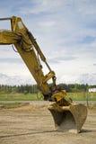 Máquina escavadora Fotos de Stock Royalty Free