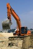 Máquina escavadora Imagens de Stock