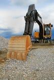 Máquina escavadora Foto de Stock