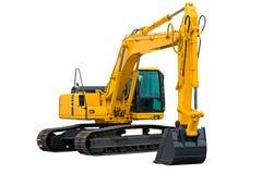 Máquina escavadora com braço longo Imagem de Stock Royalty Free