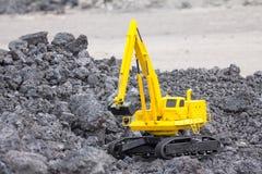 Máquina escavadora da disposição Foto de Stock