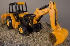Máquina escavadora do BRINQUEDO Imagens de Stock