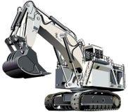Máquina escavadora gigante ilustração do vetor