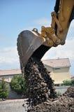 Máquina escavadora hidráulica Bucket imagem de stock