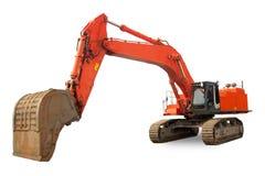 Máquina escavadora resistente super Imagem de Stock Royalty Free