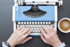 Máquina escribir Imagenes de archivo