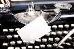 Máquina escribir vieja Foto de archivo libre de regalías