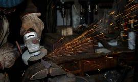 Máquina ferramenta da máquina das ferramentas de potência que lasca o giro Fotografia de Stock
