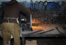 Máquina ferramenta da máquina das ferramentas de potência que lasca o giro Foto de Stock Royalty Free