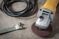 Máquina ferramenta do moedor Foto de Stock