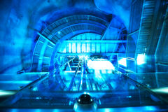 Máquina futurista abstrata Fotografia de Stock