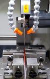 Máquina griding del CNC Fotos de archivo libres de regalías