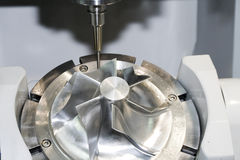 Máquina herramienta CNC fotos de archivo