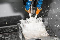 Máquina herramienta CNC Fotografía de archivo libre de regalías