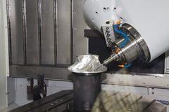 Máquina herramienta CNC foto de archivo