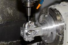 Máquina herramienta CNC imagenes de archivo