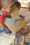 Máquina hulling do café. Fotografia de Stock Royalty Free