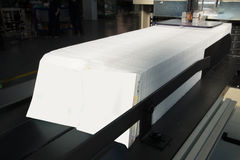 Máquina impressora - máquina para os guardanapo de papel foto de stock royalty free