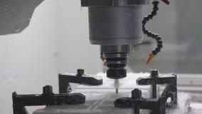 Máquina industrial del CNC almacen de video