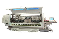 Máquina industrial para el trabajo con el vidrio Fotos de archivo