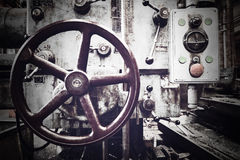 Máquina industrial velha Fotos de Stock Royalty Free