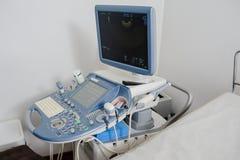 Máquina médica do diagnóstico do ultrassom Imagens de Stock Royalty Free