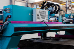 Máquina metalúrgica Fotos de Stock