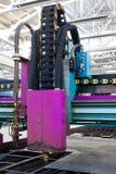 Máquina metalúrgica de gran alcance Imagen de archivo libre de regalías