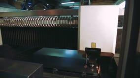 Máquina metalúrgica do laser Tecnologia de processamento do metal do corte cnc do computador filme
