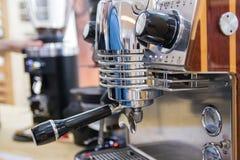 Máquina moderna do café imagem de stock royalty free