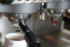 Máquina ou fabricante do café Fotografia de Stock