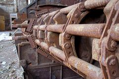 Máquina oxidada Imagem de Stock