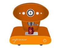 Máquina para el café Foto de archivo libre de regalías