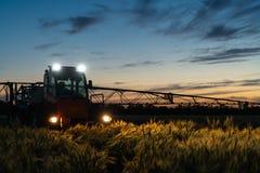 Máquina para los pesticidas de rociadura Imagen de archivo libre de regalías