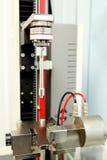 Máquina para medir a seringa da insulina do pistão da pressão fotos de stock royalty free