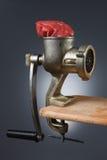 Máquina para picar carne Imagen de archivo libre de regalías