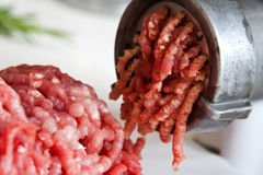 Máquina para picar carne Imagen de archivo