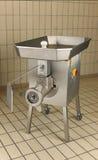 Máquina para picar carne comercial de la cocina Foto de archivo libre de regalías