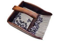 Máquina para recolher uvas-do-monte Imagens de Stock Royalty Free