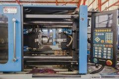 Máquina plástica da injeção do molde Foto de Stock