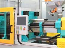 Máquina que moldea de la inyección Foto de archivo