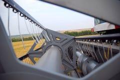 Máquina segadora Fotografía de archivo libre de regalías