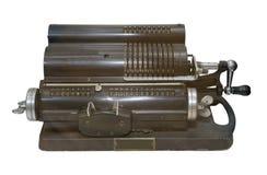Máquina sumadora Imágenes de archivo libres de regalías
