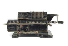 Máquina sumadora del mecánico fotos de archivo