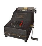 Máquina sumadora mugrienta Imagen de archivo libre de regalías