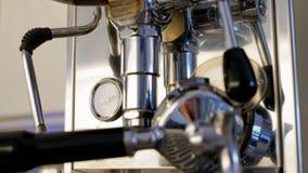 Máquina superior del café Imagenes de archivo