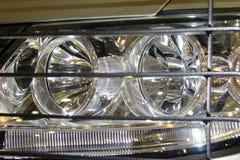Máquina superior e mais baixa das luzes dianteiras Imagens de Stock Royalty Free