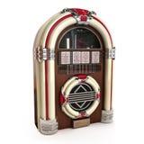 Máquina tocadiscos retra del vintage Imágenes de archivo libres de regalías