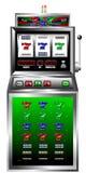 Máquina tragaperras del casino Imagen de archivo